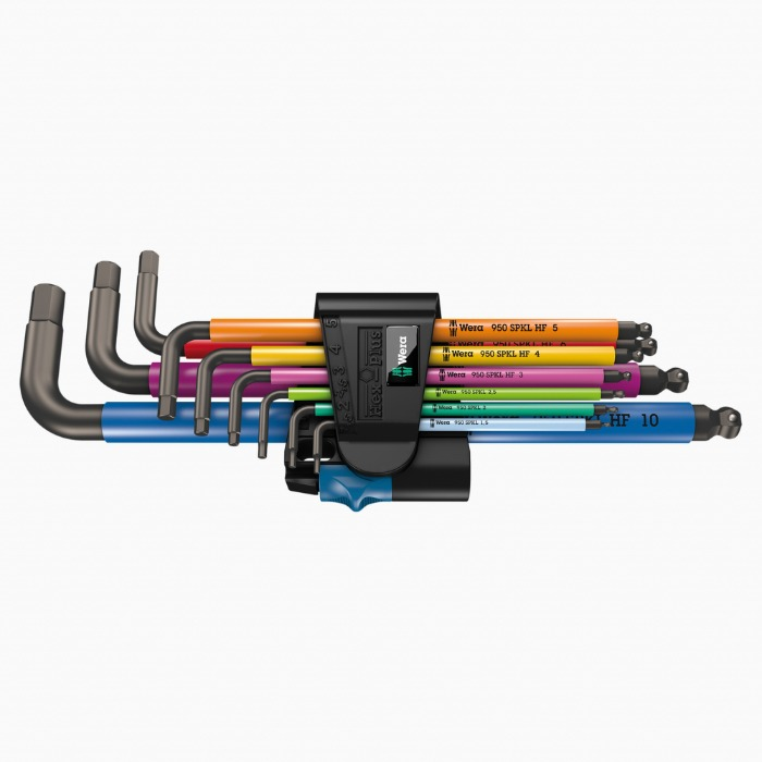 WERA l 950/9 Hex-Plus Multicolour